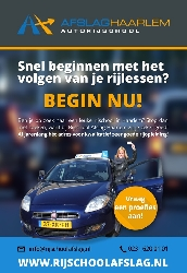 Afbeelding › Rijschool Afslag Haarlem